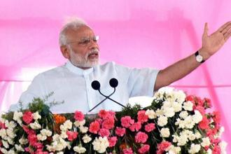 Prime Minister Narendra Modi last week said action under the law should be taken against fake cow protection groups. Photo: PTI