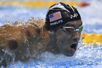 Michael Phelps won his 19th Olympic gold medal, the highest number by one athlete, after the American men's team won the 4x100-meter relay event at Rio 2016. Photo: AFP