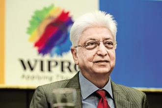 Forbes said Azim Premji, who heads India's third-largest outsourcer, Wipro, has been on a buying spree in the past year to boost growth. Photo: Hemant Mishra/Mint