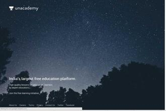 Unacademy is a free online learning portal that allows educators to create courses using an app provided on the portal itself.