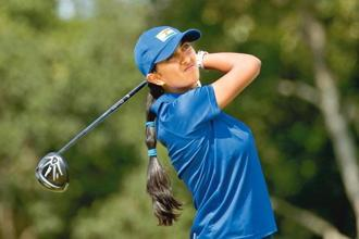 Aditi Ashok was the youngest golfer in Rio. Photo: Andrew Boyers/Reuters