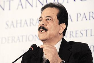 Sahara chief Subrata Roy. Photo: AFP