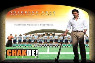 Shimit Amin's sports film saw Shah Rukh Khan play coach to the Indian women's hockey team and take them to glory, inspired by the team's real-life win at the 2002 Commonwealth Games.