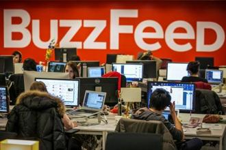 Already, video represents more than 50% of BuzzFeed's total revenue, compared with 15% at the end of 2014. Photo: Reuters
