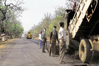 Developing 40 economic corridors, which will involve the construction of 35,000km of roads, could cost  Rs6 trillion. Photo: Mint