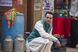 Abhay Deol in a still from 'Happy Bhag Jayegi'.