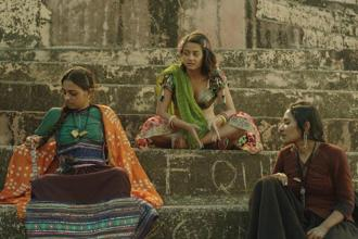 A still from Leena Yadav's Parched. (From L-R) The film, starring Radhika Apte, Surveen Chawla and Tannishtha Chatterjee, was released in about 100-150 screens.