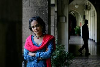 A file photo of writer Arundhati Roy. Photo: Saitsh Bate/HT
