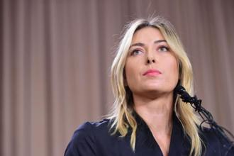Maria Sharapova, whose ferocity on court, business acumen and glamorous looks all combined to make her a marketing juggernaut, was hit with a two-year ban by an independent tribunal appointed by the International Tennis Federation (ITF). Photo: AFP