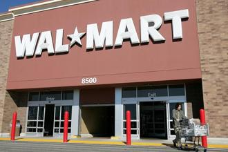 E-commerce accounts for about 3% of Walmart's overall sales. Photo: Bloomberg