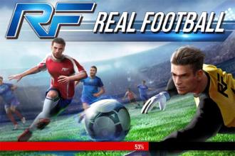 Gameloft's Real Football, has taken a step back to woo a bigger demographic of casual gamers