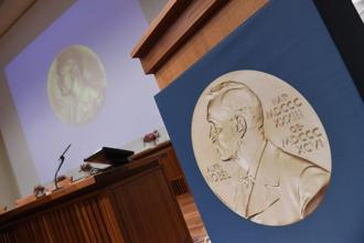 The economics prize has always been set apart from the other Nobel awards, and the subject of much controversy: unlike the other awards, which were created in Nobel's 1895 will. Photo: AFP