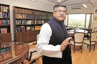 The council, chaired by law minister Ravi Shankar Prasad, will meet here on 18 October to discuss various issues, including the need to overhaul the criminal justice system. Photo: Hindustan Times
