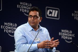 "Vijay Shekhar Sharma said that more than technology what small retailers are increasingly worried about is firms ""throwing big money"" around that upsets the equilibrium in the marketplace. Photo: Ramesh Pathania/Mint"