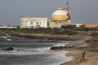 The Kudankulam 1 has been jointly built by the Nuclear Power Corp. of India Ltd and Russia's Rosatom and it had started generating electricity in 2013. Photo: Reuters