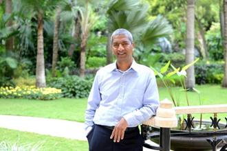 A file photo of Bloom Energy CEO KR Sridhar. Photo: Hemant Mishra/Mint
