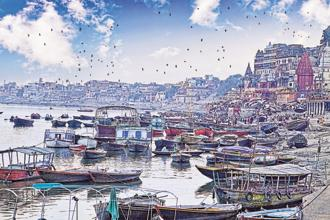 A file photo of the ghats in Varanasi. Photo: iStock