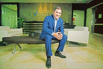 Sameer Sain, co-founder and managing partner of Everstone Capital. Everstone has interests in food businesses, real estate parks, industrial warehouses and so on. Photo: Abhijit Bhatlekar/Mint
