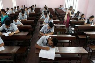 The CBSE class X board was made optional during 2009-10 when the United Progressive Alliance was in power.  Photo: Prasad Gori/HT