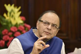 Union finance minister Arun Jaitley will seek parliamentary approval for bills later this month that would set the rate and scope of the GST. Photo: Hindustan Times