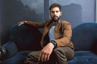 Yuvraj Singh. Photographs by Aniruddha Chowdhury/Mint
