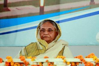 An electoral tie-up on the lines of the Grand Alliance it forged with the Janata Dal (United) and the Rashtriya Janata Dal in Bihar may indeed boost the prospects of the Congress, which has already started its Uttar Pradesh campaign with veteran Sheila Dikshit as its chief ministerial candidate.  Photo: PTI