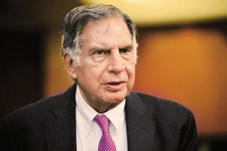 Ratan Tata asked employees at the Tata Motors plant in Pune to focus on work and not be concerned about what's happening with the management. Photo: Pradeep Gaur/Mint