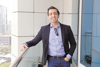 A file photo of Rishi Jaitly who has been appointed as a CEO of Times Global Partners. Photo: Abhijit Bhatlekar/Mint
