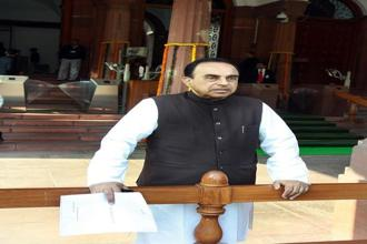 Bharatiya Janata Party leader Subramanian Swamy. Photo: HT