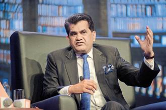 Amitabh Kant said introduction of DBT with other steps like privatization of all the state-owned discoms were bold reform measures. Photo: Abhijit Bhatlekar/ Mint