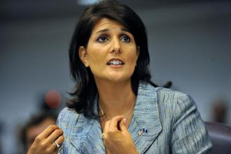 Nikki Haley's appointment as South Carolina governor is recognition of her growing stature as a unifying force within the Republican Party. Photo: Bloomberg