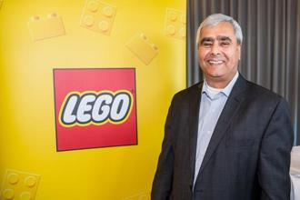 Bali Padda, was born in India in 1956, has been with Lego since 2002. Photo: AFP