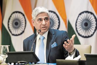 MEA spokesperson Vikas Swarup emphasised that the government was fully committed to the principles of the Indian Constitution. Photo: Hindustan Times