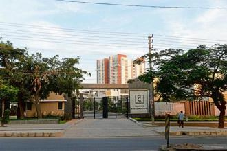 A residential society in Whitefield. Photographs: Hemant Mishra/Mint