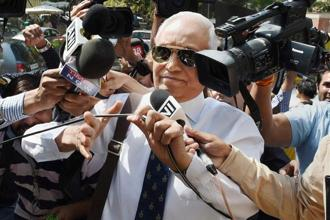 A file photo of former Indian Air Force chief S.P. Tyagi. Photo: PTI