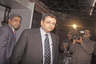Tata Teleservices shareholders voted unanimously for the resolution that sought Cyrus Mistry's removal. Photo: HT