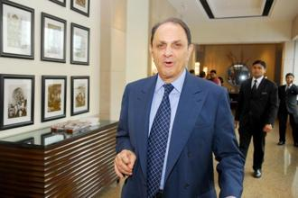 A file photo Nusli Wadia, independent director on the Tata Motors  board. Photo: Indranil Bhoumik/Mint