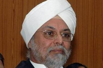 Justice Jagdish Singh Khehar will be the 44th chief justice of India. Photo: PTI