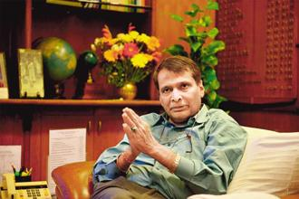 Railway minister Suresh Prabhu says accounting reforms is a massive project and is not just confined to conversion from cash to accrual accounting but is an integrated project on management accounting, cost accounting and management information systems. Photo: Mint
