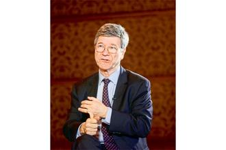 Jeffrey D. Sachs says India should lay out clear and compelling plans for clean air, clean water and clean energy, and then ask for help, whether it's in technology or financing, globally, to make this happen in a short period of time. Photo: Ramesh Pathania/Mint