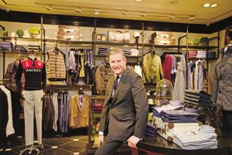 Jeremy Hackett  says dress but don't overdress... it makes a stronger statement if you keep things simple. Photo: Ramesh Pathania/Mint