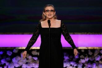 Carrie Fisher rose to fame as Princess Leia in the 'Star Wars' films. Photo: Reuters