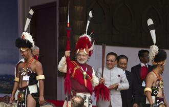 Prime Minister Narendra Modi had revived the Naga peace process in  mid-2015. Photo: AP
