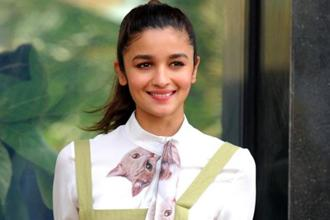 Alia Bhatt says she has learnt something from each film she has done. Photo: AFP