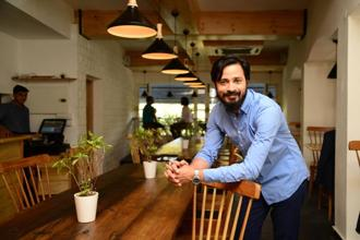 Vaibhav Singh of Perch, a wine and coffee bar in Delhi's Khan Market. Photo: Ramesh Pathania/Mint