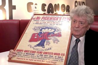 Allan Williams played an important role in finding the young Beatles club dates in Liverpool and in Hamburg. Photo: AP