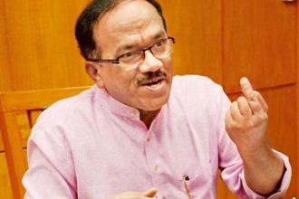 Last month, Goa CM Laxmikant Parsekar (above) sacked two MGP ministers—MGP president Pandurang Dhavalikar and his brother Sudin. Photo: Mint