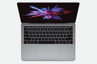 The new MacBook Pro 13 is lighter and thinner at 1.37kg and 0.59 inches.