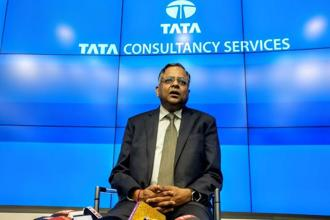 New Tata Sons chairman N Chandrasekaran. He was one of the youngest CEOs in Tata Group when he was appointed TCS CEO in 2009. Photo: Aniruddha Chowdhury/Mint