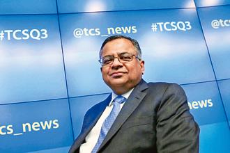 A file photo of Tata group new chairman N. Chandrasekaran. Photo: Reuters